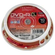 HDDR21JCP10SP [DVD-R DL(2層式) 8倍速 10P スピンドルケース]