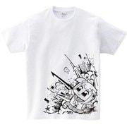 ポプテピピック ホワイトTシャツ A [メンズフリー]