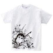 ポプテピピック ホワイトTシャツ B [メンズフリー]