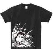 ポプテピピック ブラックTシャツ B [メンズフリー]
