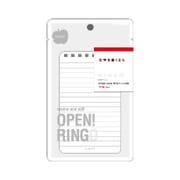 RG101Y [RINGO メモ A7変型 8穴 専用リフィル 上質紙 ヨコ罫  40枚]