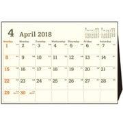 CL184-E-A5 [2018年4月始まり A5 デスクトップカレンダーE]