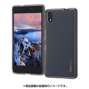 RT-QPQZCC2/B [au Qua phone QZ用 ハイブリッド/ブラック]