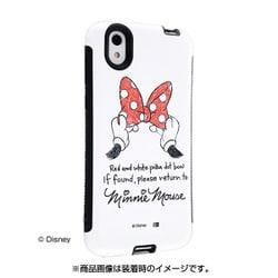 2f602b1980 イングレム IN-DAQSEAC1/MN [AQUOS sense/sense lite/sense basic スマホ耐衝撃ケース アンドカバー  ディズニー ミニーマウス]
