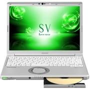 CF-SV7MDTQR [Let's note(レッツノート) SV7シリーズ/12.1型/Core i7-8550U/メモリ8GB/SSD256GB/シルバー]