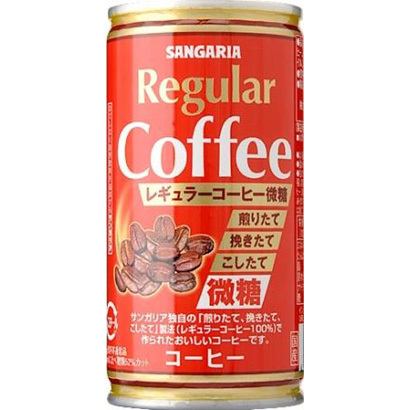 レギュラーコーヒー微糖 190g×30本
