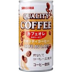 クオリティコーヒーカフェオレ 185g×30本