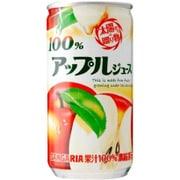 100%アップルジュース 190g×30本