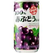 100%赤ぶどうジュース 190g×30本
