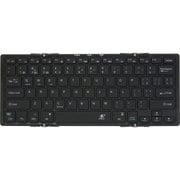 3E-BKY9-BK [Bluetooth Keyboard 【Dual】 3つ折りタイプ ブラック ケース付属]