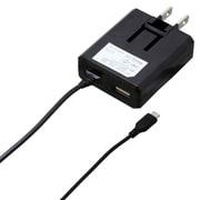 BCACM1U2418BK [microUSB AC充電器2.4A 1.8m ブラック]