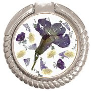 SW-SR-004 [スマホリング Purple flower]