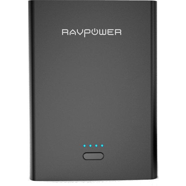 RP-PB073-BK [RAVPower 10400mAh モバイルバッテリー Type-Cアダプタ付き ブラック]