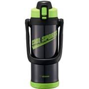 SD-BC20-BG [ステンレスクールボトル TUFF(タフ) 2.06L グリーンブラック]