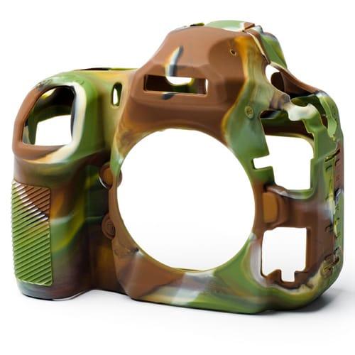 イージーカバー Nikonデジタル一眼 D850用 カモフラージュ [カメラ用シリコンカバー]