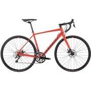 AXIS D2 ネオンレッド(98G NEON RED) [ロードバイク 470mm(S) 外装20段変速 SHIMANO TIAGRA ディスクブレーキ採用 2018年モデル]