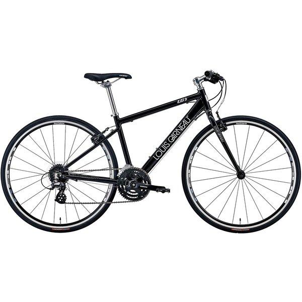 LGS-L9 Casual style LGブラック [カジュアルクロスバイク 420mm(160~175cm) 外装24段変速 SHIMANO ALTUS]