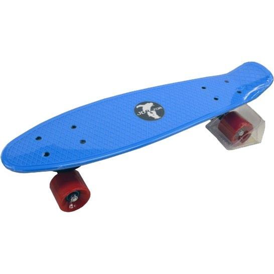 カラースケートボード 22インチ ブルー [スケートボード]