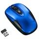 MUS-RIT126BL [IR 無線静音マウス 3ボタン ブルー]
