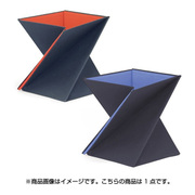 LVT-M [ひねってすぐ使える折りたたみ式スタンディングデスク LEVIT8 M レッド]