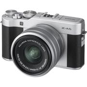 X-A5 レンズキット シルバー [ボディ+交換レンズ 「XC15-45mm F3.5-5.6 OIS PZ シルバー」]