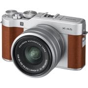 X-A5 レンズキット ブラウン [ボディ+交換レンズ 「XC15-45mm F3.5-5.6 OIS PZ シルバー」]