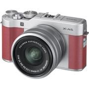 X-A5 レンズキット ピンク [ボディ+交換レンズ 「XC15-45mm F3.5-5.6 OIS PZ シルバー」]