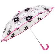 ビニール子供傘 ピンク デイジー 45cm [傘・レインコート]