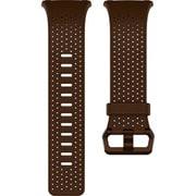 FB164LBDBL [Fitbit(フィットビット) スマートウォッチ iONIC 交換用レザーバンド コニャック(Dark Brown) Lサイズ]