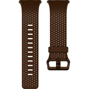 FB164LBDBS [Fitbit(フィットビット) スマートウォッチ iONIC 交換用レザーバンド コニャック(Dark Brown) Sサイズ]