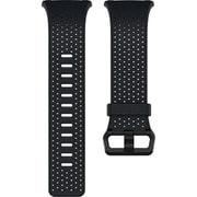 FB164LBNVL [Fitbit(フィットビット) スマートウォッチ iONIC 交換用レザーバンド ミッドナイトブルー(Navy) Lサイズ]
