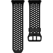 FB164SBBKS [Fitbit(フィットビット) スマートウォッチ iONIC 交換用スポーツバンド ブラック&チャコール(Black/Gray) Sサイズ]