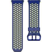 FB164SBBUS [Fitbit(フィットビット) スマートウォッチ iONIC 交換用スポーツバンド コバルト&ライム(Blue/Yellow) Sサイズ]