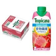 トロピカーナ エッセンシャルズ 食物繊維 330ml×12本 [果実飲料]