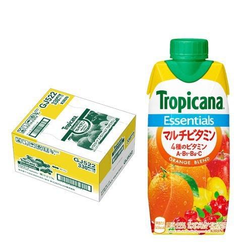 トロピカーナ エッセンシャルズ マルチビタミン 330ml×12本 [果実飲料]