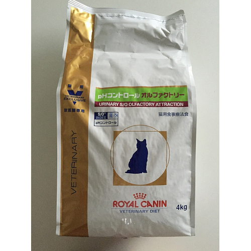 ロイヤルカナン 猫用 pHコントロールオルファクトリー 4kg [キャットフード]