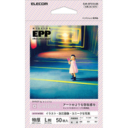 EJK-EFCVL50 [エフェクトフォトペーパー キャンバス L判サイズ 50枚]