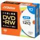 VHW12NP10J2 [DVD-RW(Video) 片面1層 くり返し録画用 120分 1-2倍速 1枚5mmケース(透明)10P インクジェットプリンタ対応(ホワイト) ワイド印刷エリア対応]