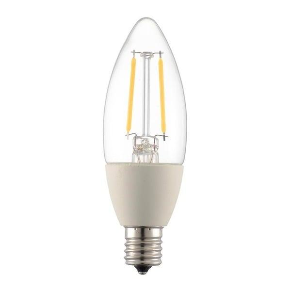 LDC2L-E17/D C6 [LED電球 シャンデリアタイプ E17 25形相当 クリア 電球色 調光器対応]