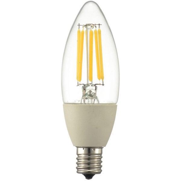 LDC6L-E17/D C6 [LED電球 シャンデリアタイプ E17 60形相当 クリア 電球色 調光器対応]
