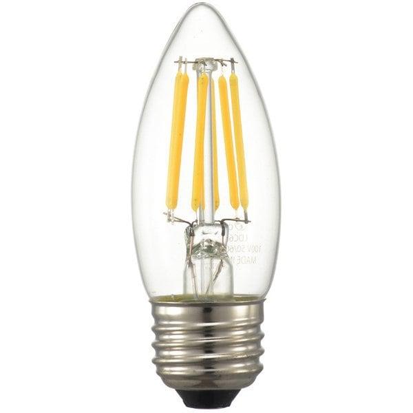 LDC6L/D C6 [LED電球 シャンデリアタイプ E26 60形相当 クリア 電球色 調光器対応]