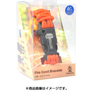 ファイヤーコードブレスレット 02-03-550f-0013 セーフティーオレンジ XLサイズ [アウトドア 火起こし ロープ]