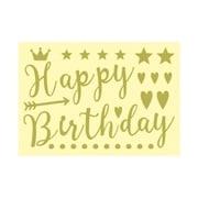 CSMS-HAP [メッセージステッカー HAPPY BIRTHDAY]
