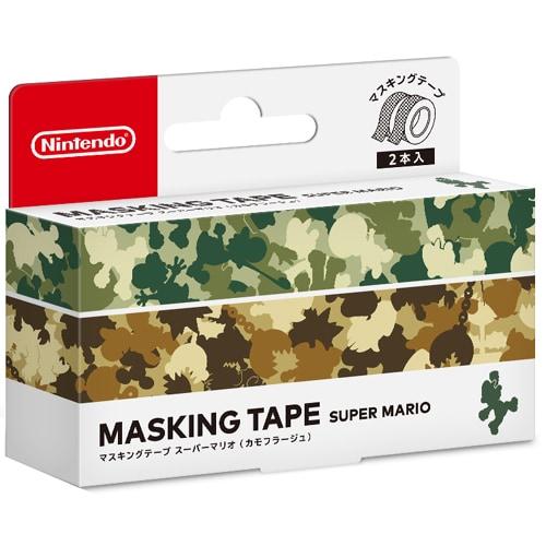 マスキングテープ スーパーマリオ カモフラージュ [Nintendo Labo 用アクセサリー]