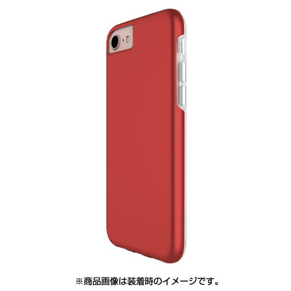 PHFDLSIP8-RD [DualSkin iPhone 8/7/6s/6用ケース RD]