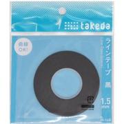 25-1610 [ラインテープ 黒 0.5mm]
