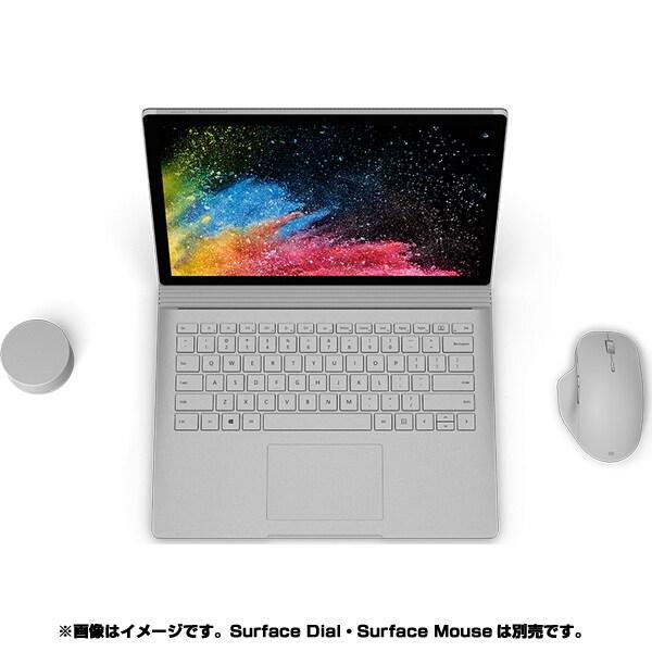 HNR-00010 [Surface Book 2 (サーフェスブック 2) 15インチ/第8世代 Intel Core i7/RAM 16GB/SSD 256GB/dGPU/Nvidia GEFORCE GTX 1060/Office 2016/シルバー]