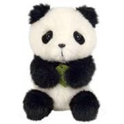 potte ぬいぐるみ パンダ [約14cm]