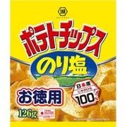 お徳用サイズ ポテトチップス のり塩 126g