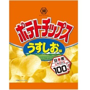 小袋ポテトチップス うすしお味 28g